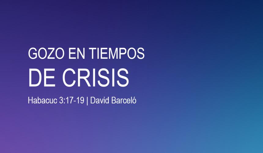Gozo en tiempos de crisis