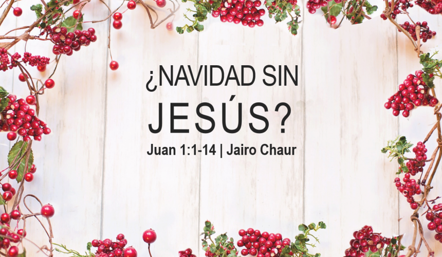 ¿Navidad sin Jesús?